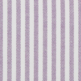 Purple Oxford Stripe