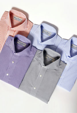 Custom Tailored Shirts, Custom Made Shirts, Custom Dress Shirts ...